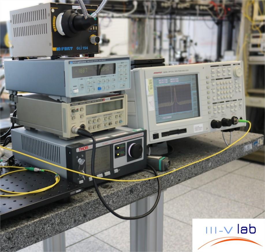 Caractérisation des diodes laser monofréquences DFB…