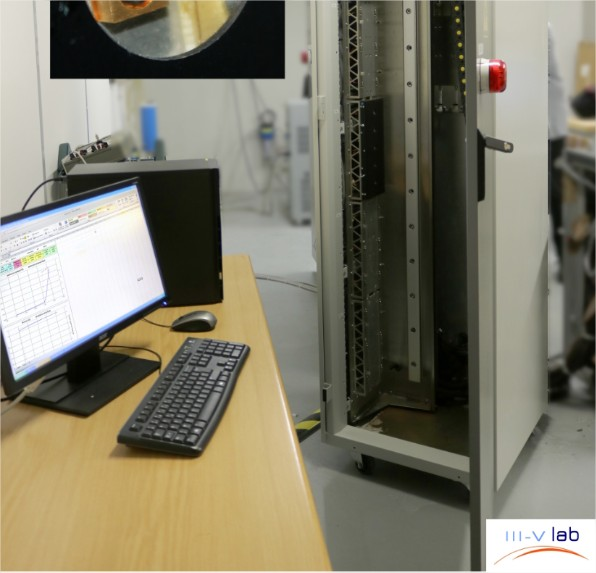 Tests de vieillissement des diodes laser…